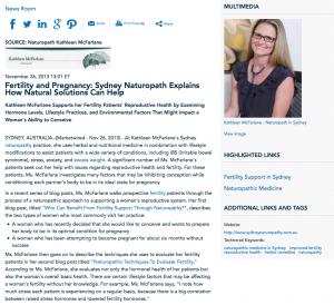 naturopathy, excess weight, fertility, Sydney naturopath, Kathleen McFarlane